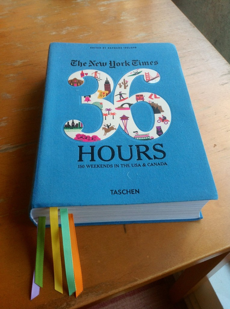 36 hours from new york times and taschen