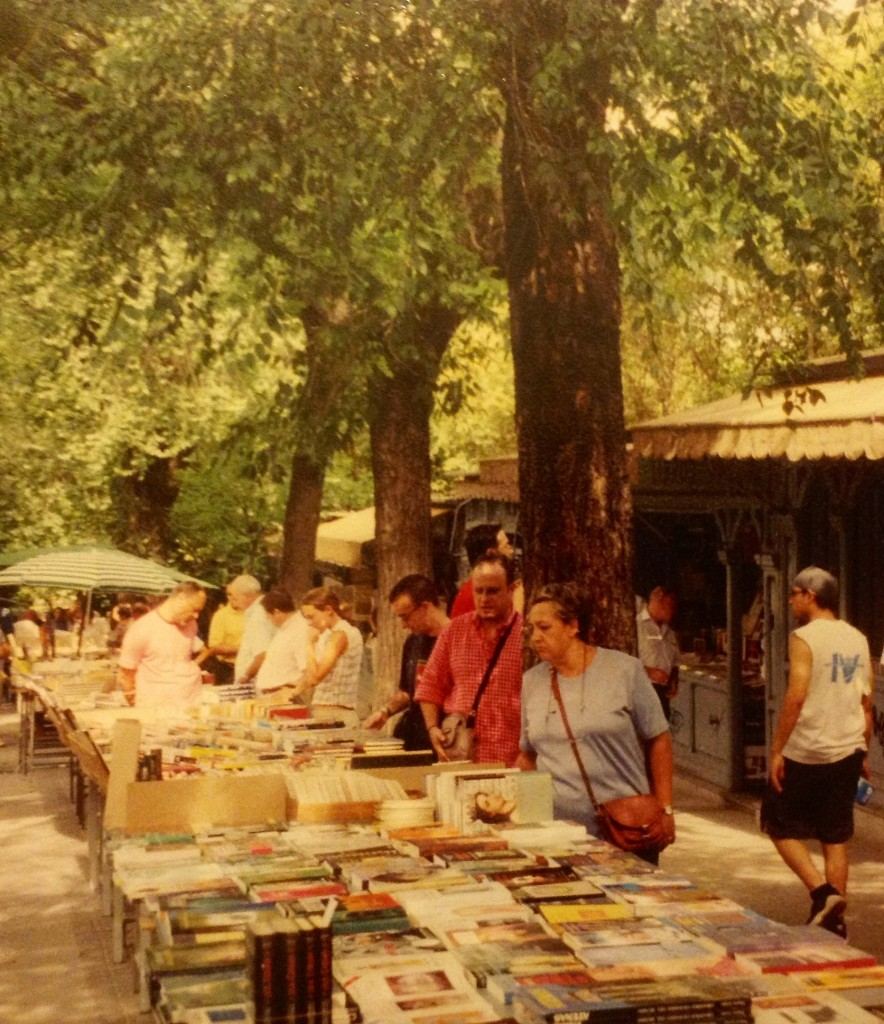 madrid book market