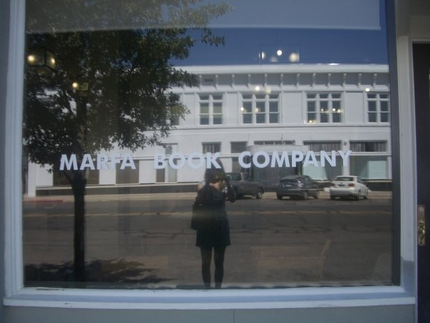 marfa book company, where i found the history of giant, which was later written into a movie filmed in marfa