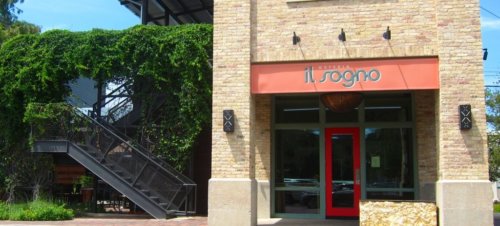 excellent italian food at il sogno in pearl brewery, san antonio