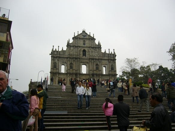 st. paul's ruins in macau