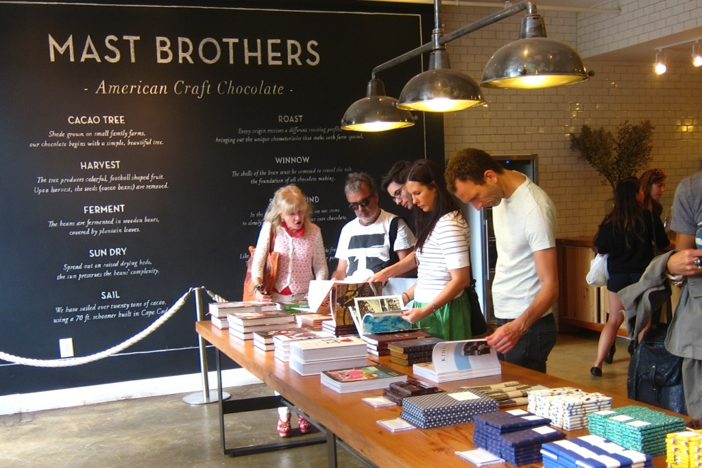 mast brothers chocolate in williamsburg