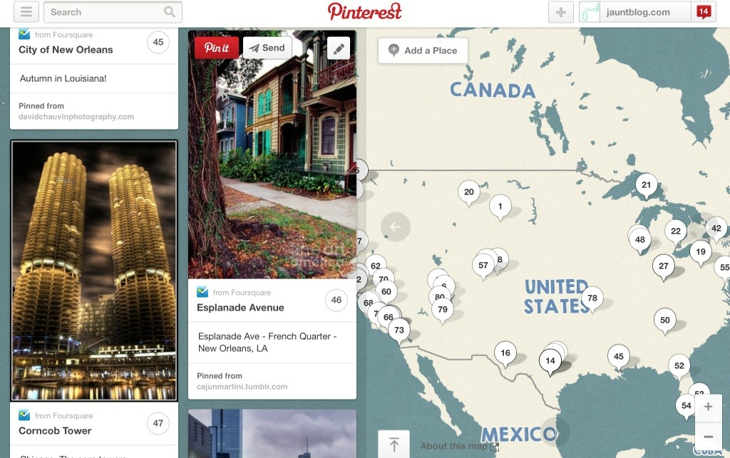 a snapshot of my work-in-process pinterest maps.
