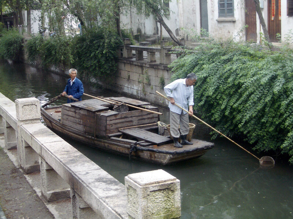 the canals of tongli in western china