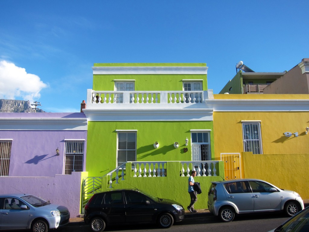 the colorful bo-kaap neighborhood