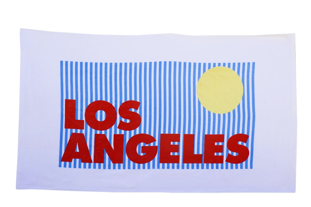 los-angeles-beach-towel