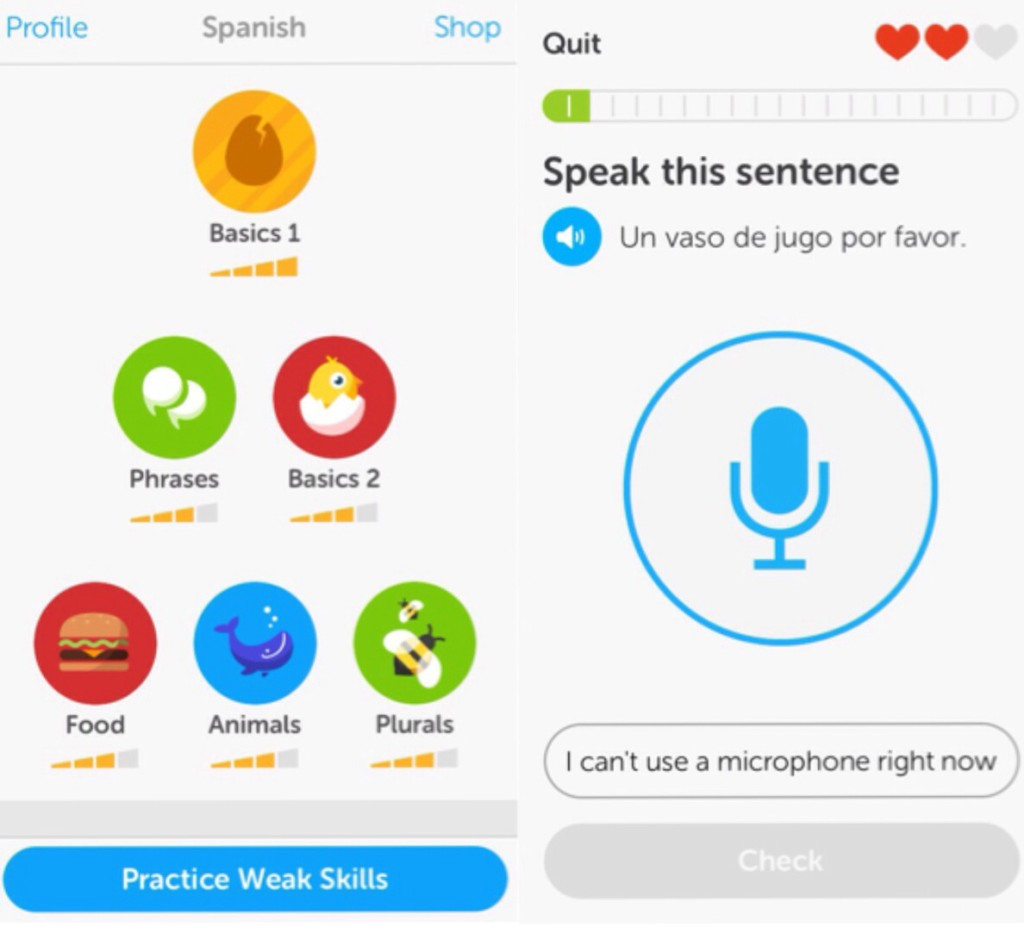 learn a language with duolingo!