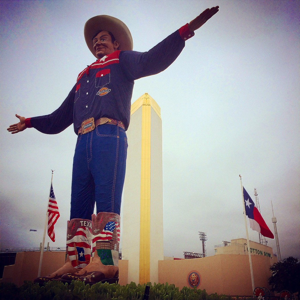 the new and improved big tex