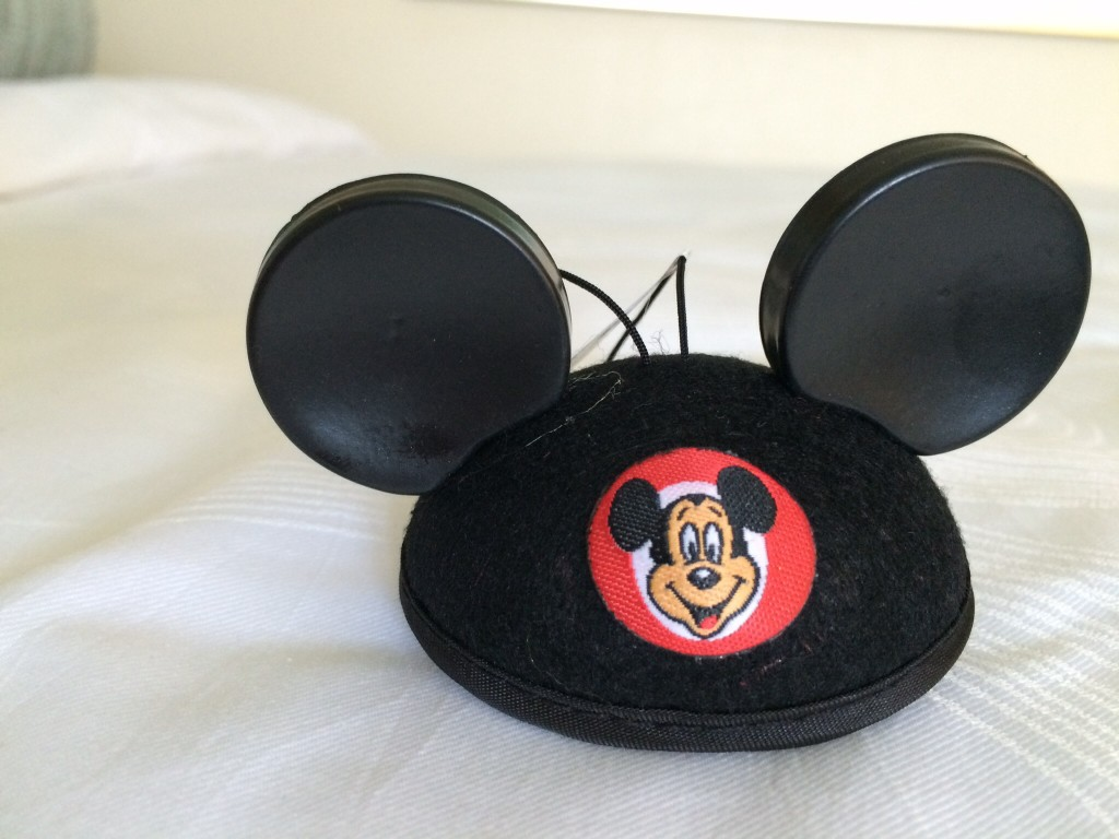 the newest addition to my collection: a mickey mouse hat! i went to orlando last week for training, and picked this cute guy up in epcot.