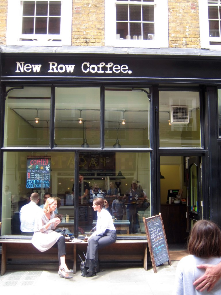stop for a flat white at new row coffee in london - delightful!