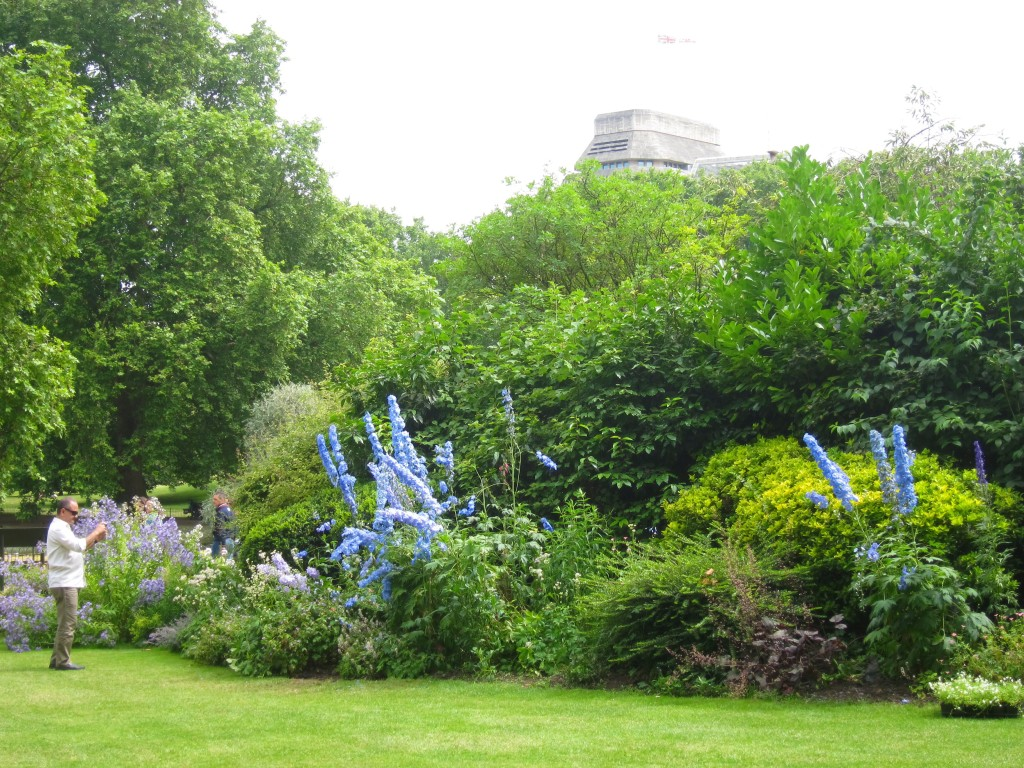 the larger-than-life flora in st. james's park in london