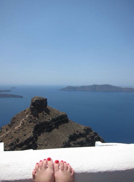 santorini, aka my favorite place the whole entire world.