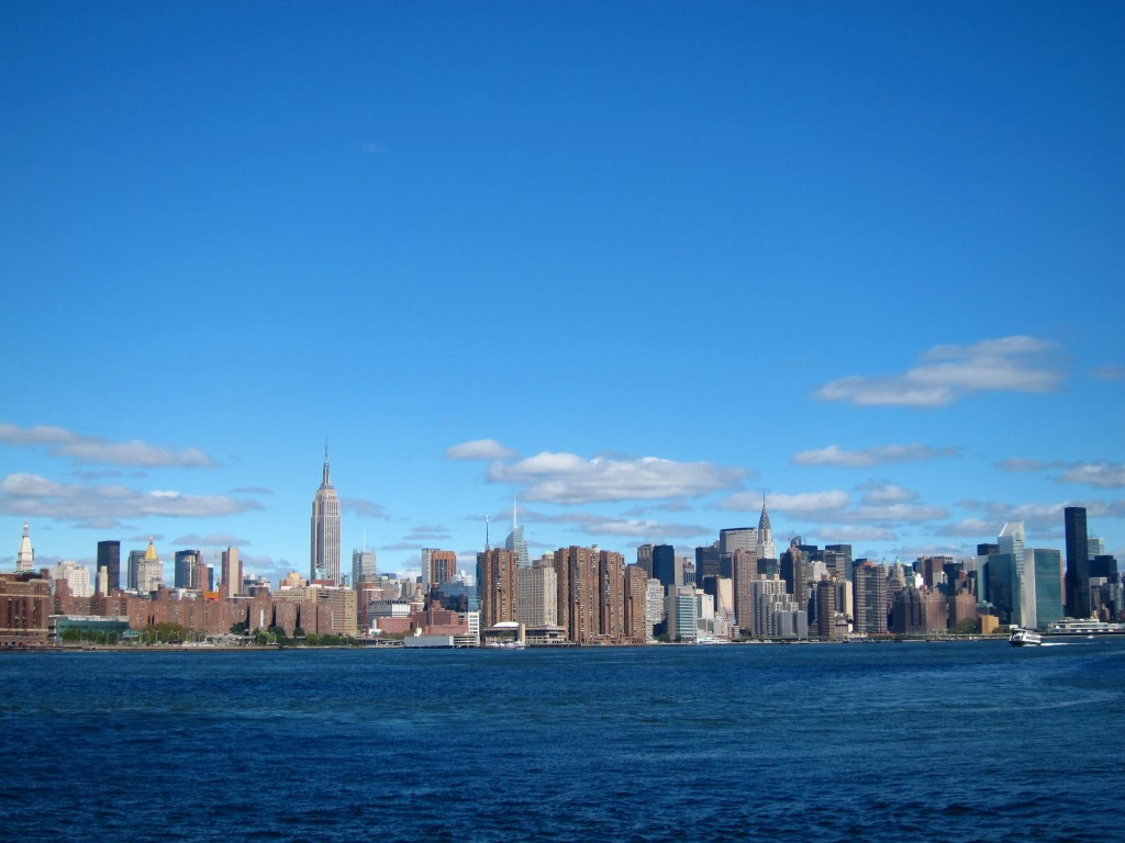 new york, as seen from brooklyn.
