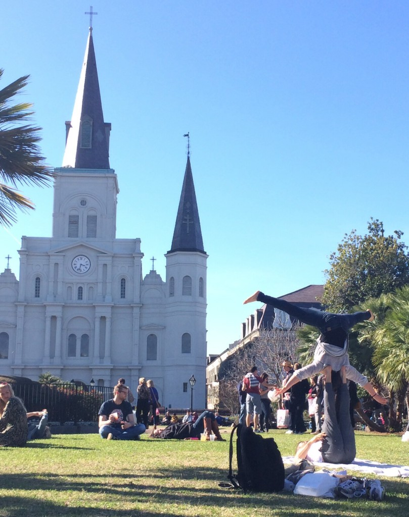 mesmerized by these guys at jackson square