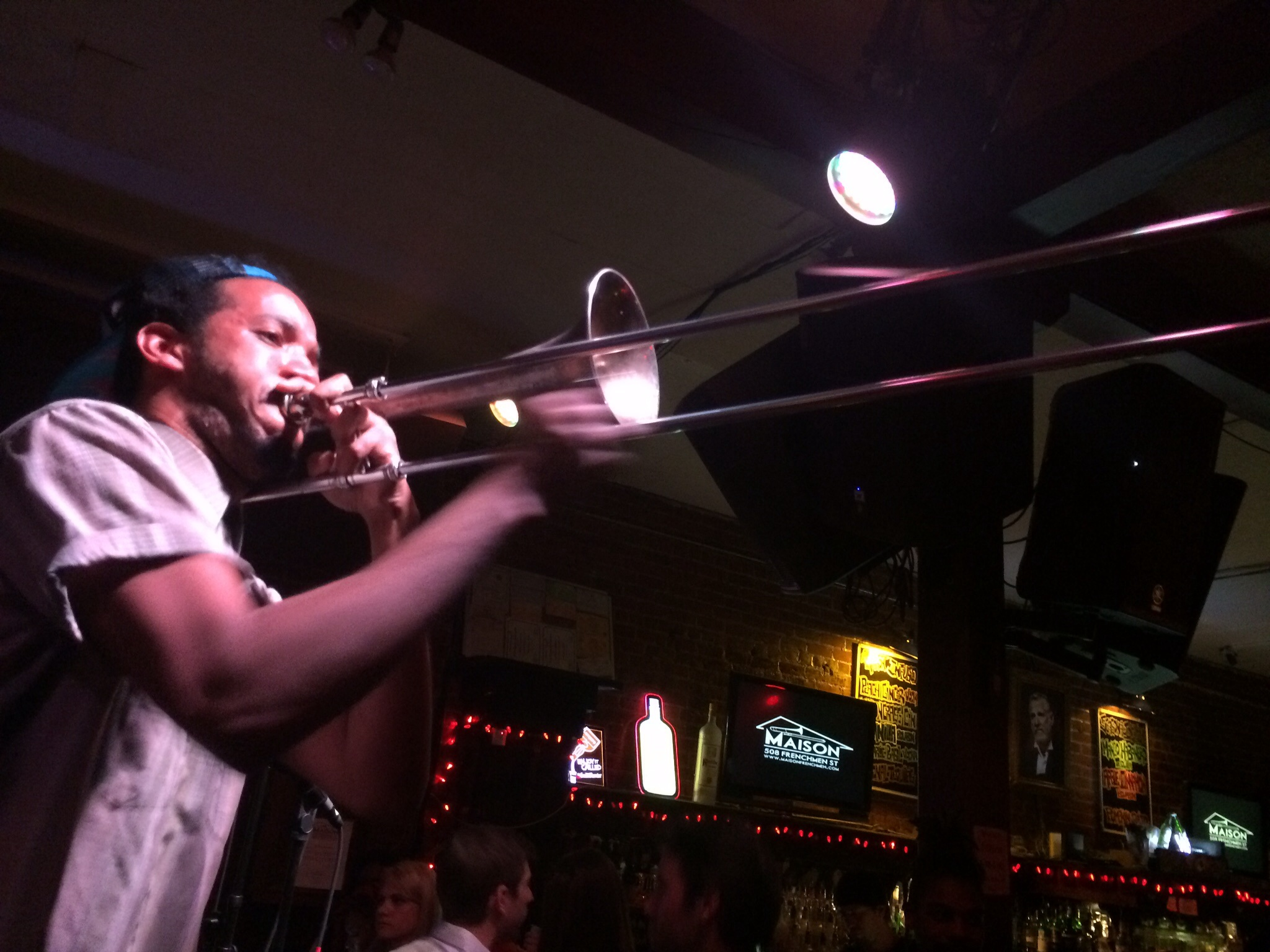 beats and jazz at maison on frenchman street