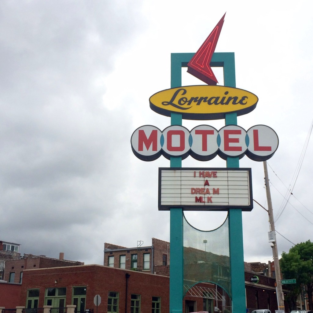 the civil rights museum in memphis, tennessee, at the site where mlk jr. was shot