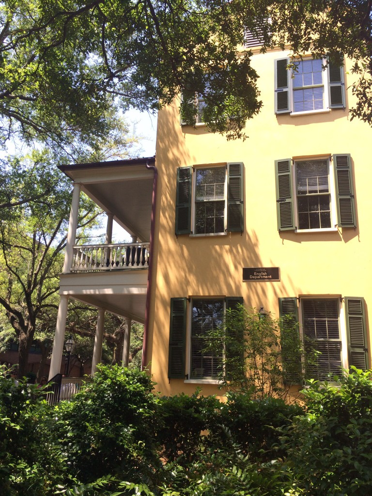 the picturesque college of charleston