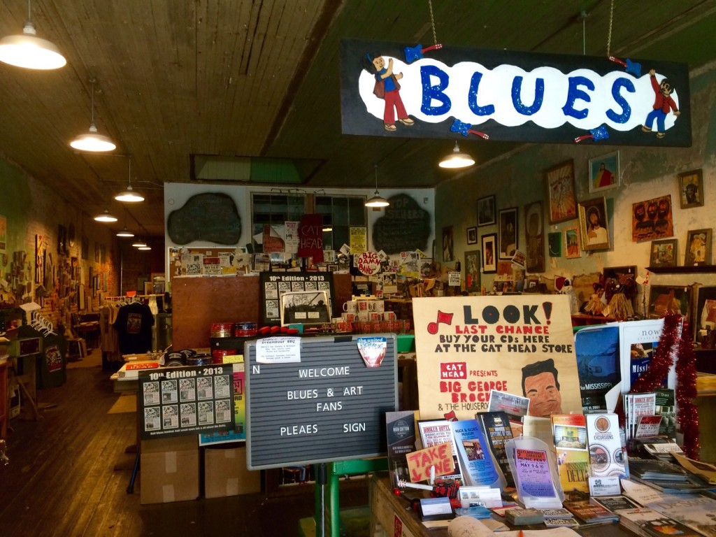 cat head delta blues and folk art in downtown clarksdale, mississippi