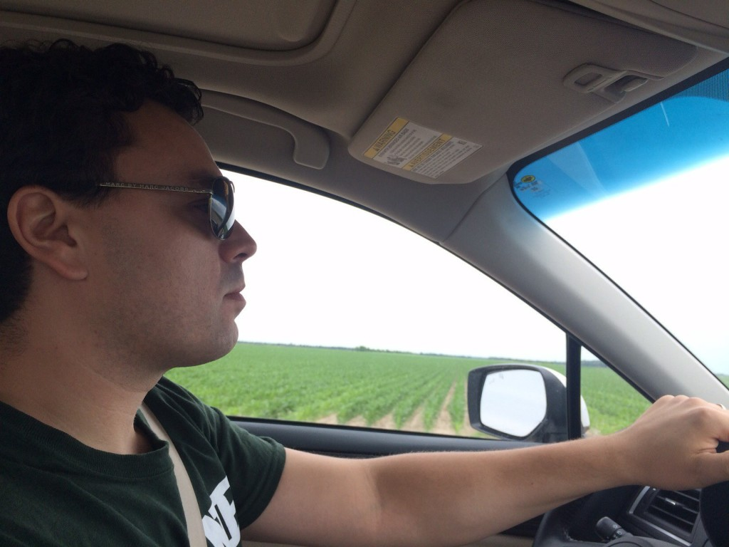 driving south through the mississippi delta